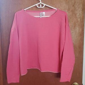 Divided H&M crop sweatshirt, lightweight EUC crop